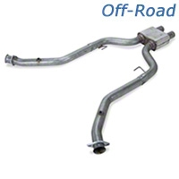 MAC Off-road Pro Chamber Mid-Pipe (05-09 GT) - MAC PC2005