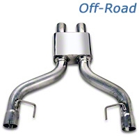 MAC Off-road Pro Chamber Mid-Pipe (05-10 GT w/ Long Tube Headers) - MAC PC4605