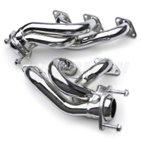 MAC Chrome Shorty Headers (05-09 V6) - MAC Performance 36405