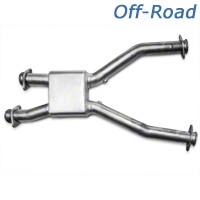 MAC Off-road Pro Chamber Mid-Pipe (99-04 GT, Cobra w/ Long Tube Headers) - MAC PC4900||PC4900