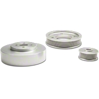 MAC Under Drive Pulleys - Aluminum (94-95 GT, Cobra) - MAC Performance 2945