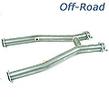 MAC Off-Road H-Pipe (99-04 V6 w/ Long Tube Headers) - MAC TF3820
