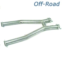 MAC Off-Road Shorty H-Pipe (99-04 V6) - MAC TF3820