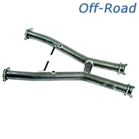 MAC Off-Road H-Pipe (94-97 V6 w/ Long Tube Headers) - MAC TF2800