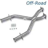 MAC Off-Road Shorty X-Pipe (99-04 GT, Cobra) - MAC Performance X994