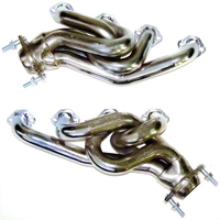 MAC Chrome Equal Length Shorty Headers (79-93 5.0L) - MAC Performance 9028690