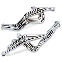 MAC Chrome Long Tube Headers - Manual (79-93 5.0L) - MAC Performance TF2016