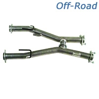 MAC Off-Road H-Pipe - Manual (79-93 5.0L w/ Long Tube Headers) - MAC TF7993