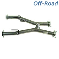 MAC Off-Road H-Pipe - Automatic (79-93 5.0L w/ Long Tube Headers) - MAC TFA7993