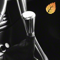 Modern Billet Polished Billet Shift Knob - 5 speed engraved (79-04 All)