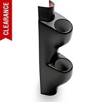 Dual Gauge Pillar - Coupe - Black (94-01 All) - AM Interior 5021