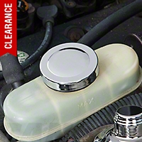 Chrome Brake Reservoir Cap Cover (87-04 V8; 95-04 V6)