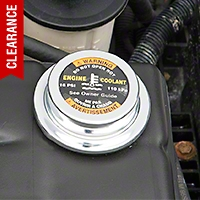 Chrome Radiator Cap Cover (96-04 4.6L)