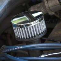Chrome Oil Fill Breather (86-95 5.0L)