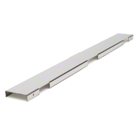 Polished Stainless Steel Radiator Cover - 3 Row (86-93 5.0L) - AM Exterior 5013