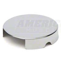 Chrome Windshield Washer Reservoir Cap Cover (86-95 5.0L; 96-97 4.6L) - AM Exterior 1449