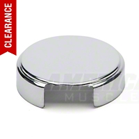 Chrome Radiator Reservoir Cap Cover (86-89 5.0L) - AM Exterior 5006
