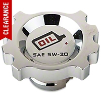 Modern Billet Chrome Oil Cap (05-10 V6) - Modern Billet UDU-05-OIL-V6-CH