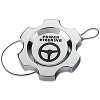Chrome Power Steering Cap (05-10 All) - Modern Billet UDU-05-POW-CH