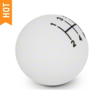 Retro Style 5-Speed Shift Knob - White (05-10 All)