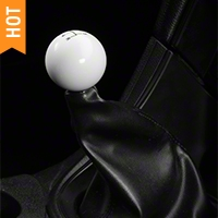 Retro Style 5-Speed Shift Knob - White (79-04 All)