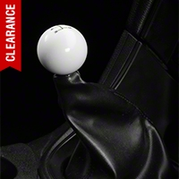 Modern Billet Retro Style 5-Speed Shift Knob - White (79-04 All) - Modern Billet 41067