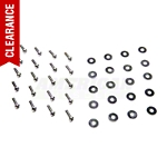 Polished Stainless Fender Screw & Washer Kit (85-14 All) - AM Restoration 5315