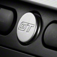 Modern Billet Satin Power Plug - GT Logo (05-09 All)