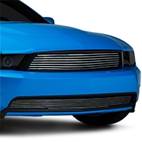 Polished Retro Mustang Upper Billet Grille (10-12 GT)