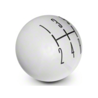 Modern Billet 2010 Style Shift Knob - Chrome (05-10 All)