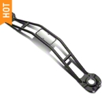 SR Performance Black Strut Tower Brace (05-14 GT, V6) - SR Performance STB-05-BK