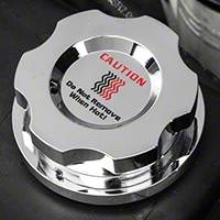 Chrome Radiator Cap Cover (96-04 GT, Cobra) - Modern Billet UDU-05-RAD-CH