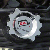 Chrome Oil Cap (87-93 5.0L; 94-01 GT) - Modern Billet UDU-96-OIL-CH