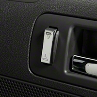 Modern Billet Chrome Lock Switch Covers (05-14 All)