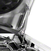 MMD Bolt On Hood Strut Kit - Chrome (05-09 All)