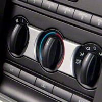 Satin A/C Accent Trim (05-09 All) - Modern Billet 41183