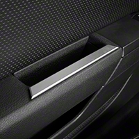 Satin Interior Door Handle Accents (05-09 All) - Modern Billet 41186