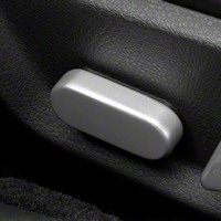 Satin Seat Adjuster Cover (05-14 All) - Modern Billet 41188