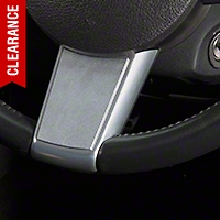 Modern Billet Satin Steering Wheel Badge (05-09 All) - Modern Billet 41191