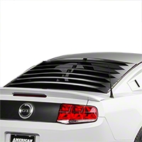 Rear Window Louvers - Smooth Aluminum (05-14 All)