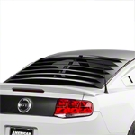 Rear Window Louvers - Smooth Aluminum (05-14 All) - AM Exterior 41203