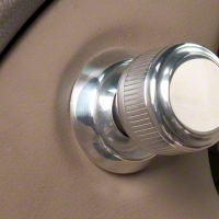 Polished Billet Headlight Knob Bezel (94-04 All)