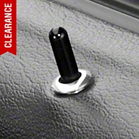 Modern Billet Polished Billet Door Lock Bezels (79-04 All)