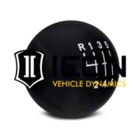 Modern Billet Retro Style 6-Speed Shift Knob - Black (11-14 All) - Modern Billet 41215