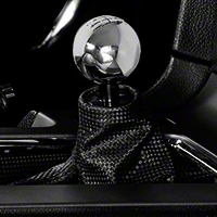 Modern Billet Retro Style 6-Speed Shift Knob - Chrome (11-14 GT, V6; 11-12 GT500) - Modern Billet 41216
