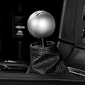 Retro Style 6-Speed Shift Knob - Satin (11-14 All)