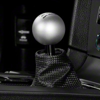 Modern Billet Retro Style 6-Speed Shift Knob - Satin (11-14 GT, V6; 11-12 GT500) - Modern Billet 41217