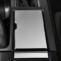 Modern Billet Chrome Cup Holder Cover (10-14 All)