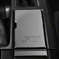 Modern Billet Chrome Cup Holder Cover - GT Logo (10-14 All) - Modern Billet 41239