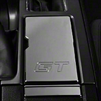 Chrome Cup Holder Cover - GT Logo (10-14 GT)
